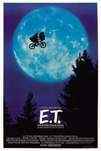 Et The Extra Terrestrial poster tin sign Wall Art
