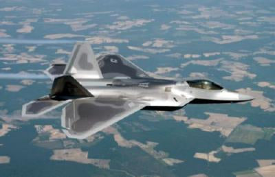 F22 In Flight poster tin sign Wall Art