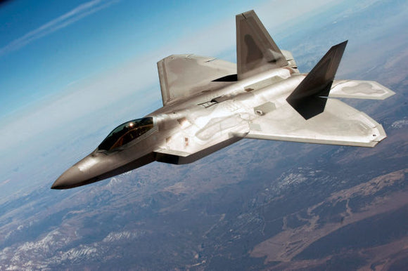 Aviation and Transportation Posters, f22 raptor military aviation