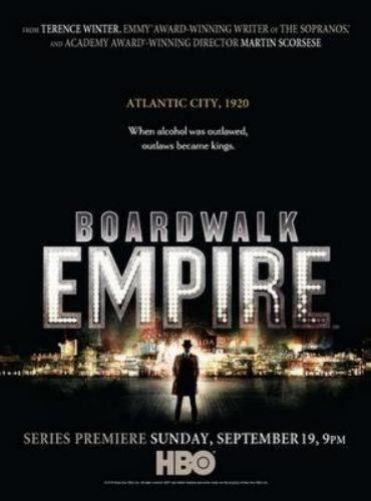 Boardwalk Empire Photo Sign 8in x 12in