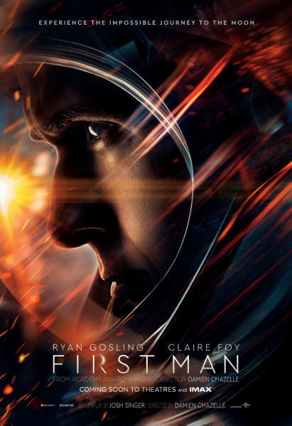 Movie Posters, first man