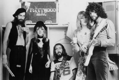 Fleetwood Mac Bw Poster 11x17 Mini Poster