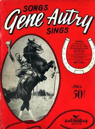 Gene Autry Album Art poster tin sign Wall Art