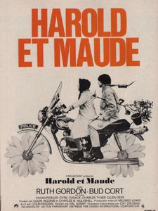 Harold And Maude French Photo Sign 8in x 12in