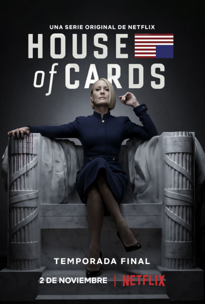 TV Posters, house of cards season 6