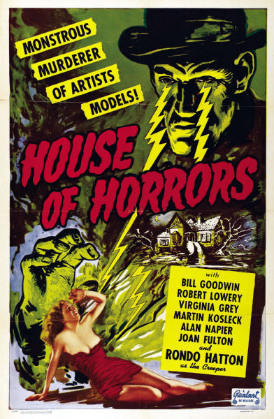 TV Posters, house of horrors