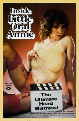 Inside Little Oral Annie movie poster Sign 8in x 12in