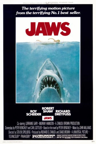 Jaws Movie Poster 11x17 Mini Poster