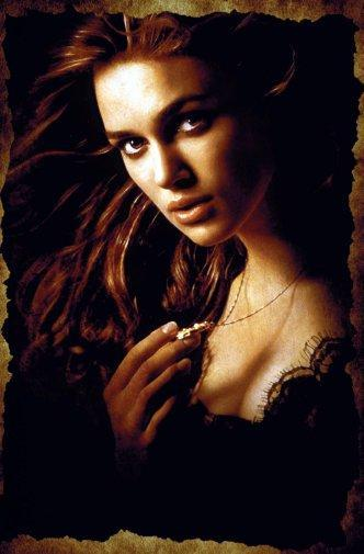 Keira Knightley Photo Sign 8in x 12in