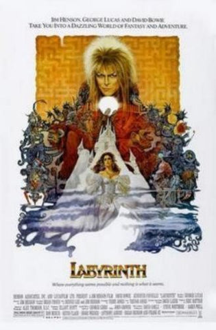 Labyrinth Movie Poster 11x17 Mini Poster