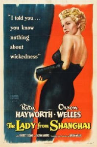Lady From Shanghai The Movie Poster 24in x 36in - Fame Collectibles