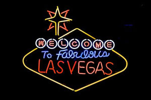 Las Vegas Sign Poster #01 11x17 Mini Poster