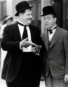 Laurel And Hardy 11x17 Mini Poster