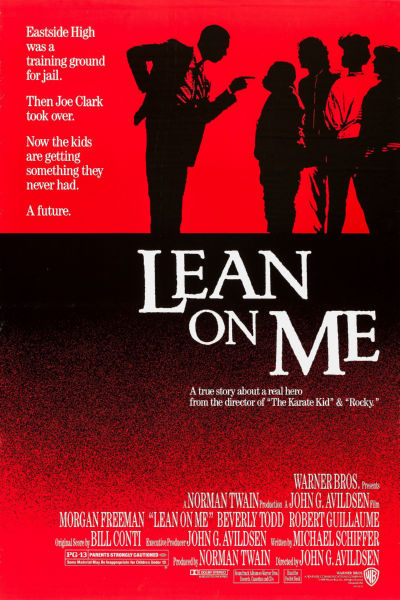 Movie Posters, lean on me movie