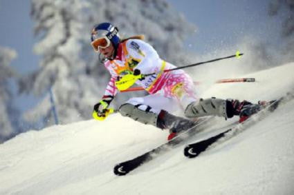 Lindsey Vonn 11inx17in Mini Poster #01 Action Skiing