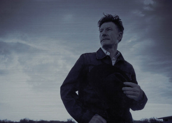 Lyle Lovett poster Metal Sign Wall Art 8in x 12in Black and White