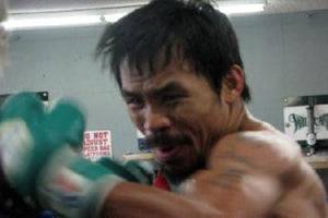 Manny Pacquiao 11inx17in Mini Poster #02 Punch