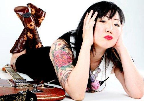 Margaret Cho Photo Sign 8in x 12in