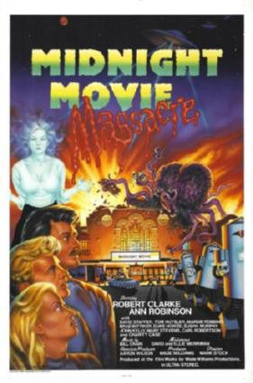 Midnight Movie Massacre poster| theposterdepot.com