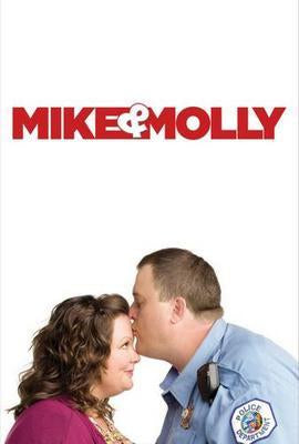 Mike And Molly poster tin sign Wall Art