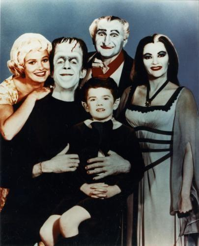 Munsters Photo Sign 8in x 12in