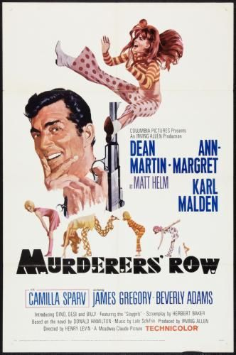 Murderers Row Movie Poster 11x17 Mini Poster