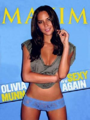 Olivia Munn Poster Maxim Cover 27inx36in 24x36 - Fame Collectibles