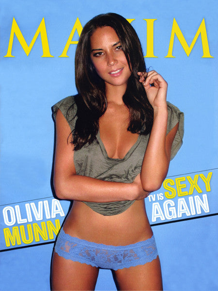 OLIVIA MUNN MAXIM MAGAZINE Feb 2011 Cover 11x17 Mini Poster