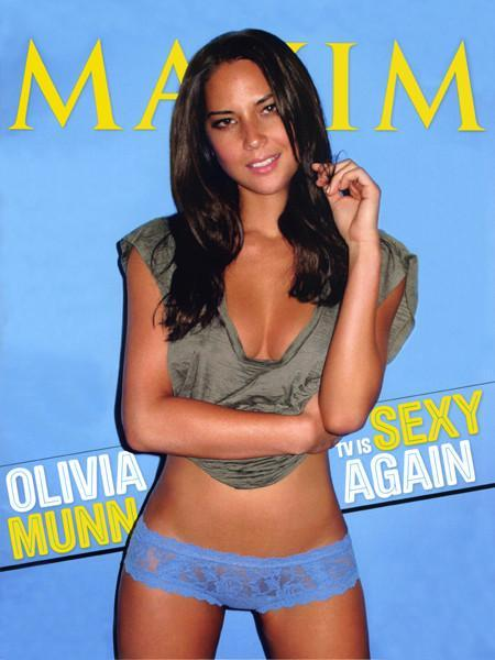 OLIVIA MUNN MAXIM MAGAZINE Feb 2011 Cover Poster 27x36 24x36 - Fame Collectibles