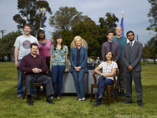 Parks And Recreation Photo Sign 8in x 12in