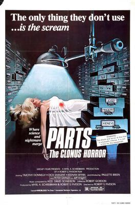 Parts The Clonus Horror movie poster Sign 8in x 12in