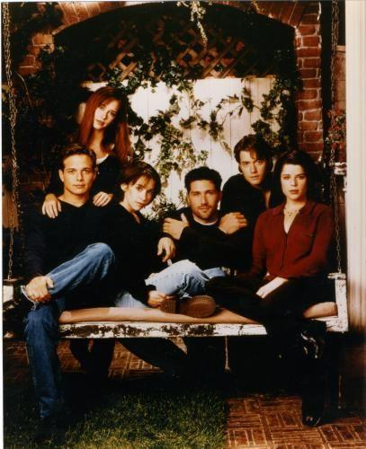 Party Of Five Photo Sign 8in x 12in