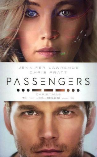 Passengers Photo Sign 8in x 12in
