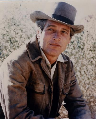 Paul Newman Photo Sign 8in x 12in