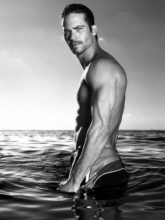 Paul Walker Photo Sign 8in x 12in
