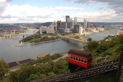 Pittsburgh Skyline Poster Photography 11x17 Mini Poster