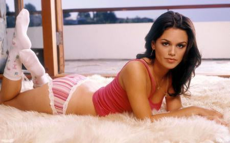 Rachel Bilson poster tin sign Wall Art