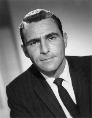 Rod Serling Great Portrait poster tin sign Wall Art
