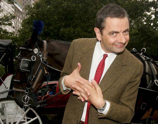 Rowan Atkinson Photo Sign 8in x 12in
