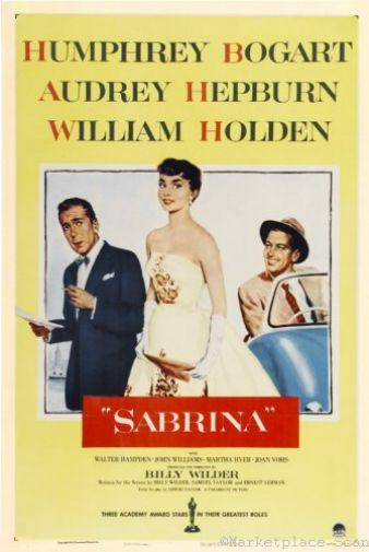 Sabrina movie poster Sign 8in x 12in