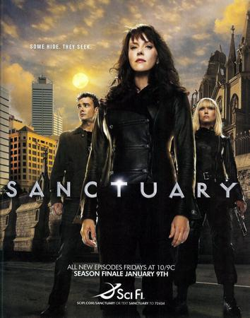 Sanctuary Promo poster tin sign Wall Art