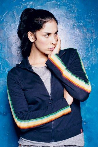 Sarah Silverman Photo Sign 8in x 12in