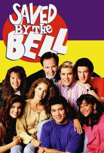 Saved By The Bell Photo Sign 8in x 12in