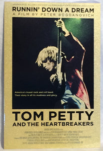 Tom Petty Runnin Down A Dream poster Metal Sign Wall Art 8in x 12in