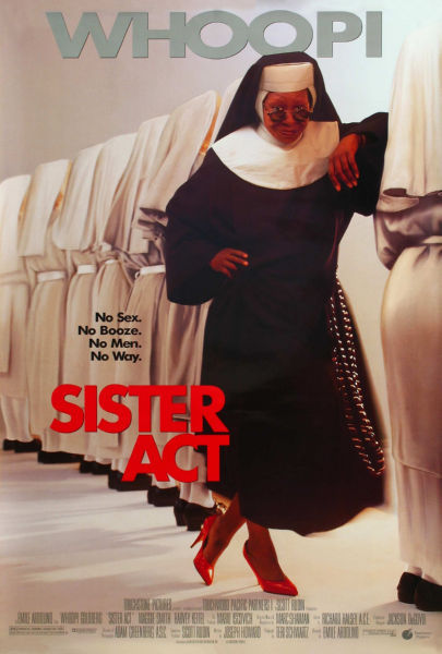 Movie Posters, sister act movie