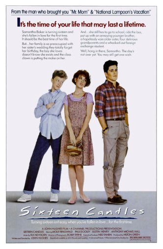 Sixteen Candles Movie Poster 11x17 Mini Poster Art decor