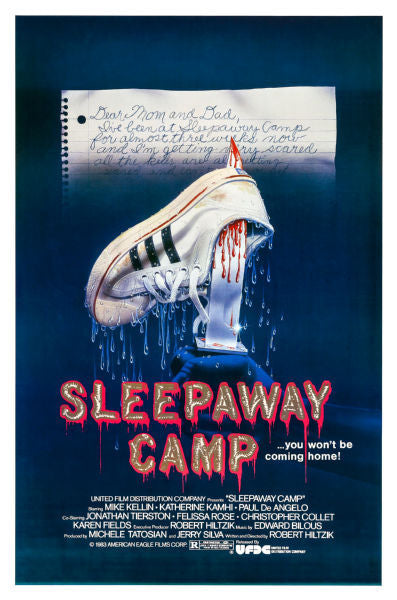 Movie Posters, sleepaway camp