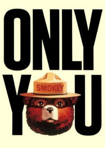 "Smokey Bear Poster 16""x24"" On Sale The Poster Depot"