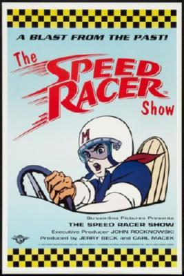 Speed Racer poster tin sign Wall Art