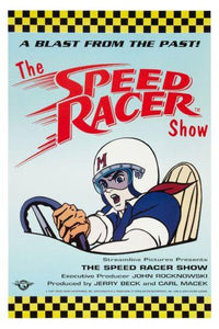 Speed Racer Photo Sign 8in x 12in
